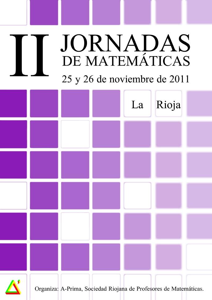 Cartel de las Jornadas, realizado por Sandra Almazán Royo.